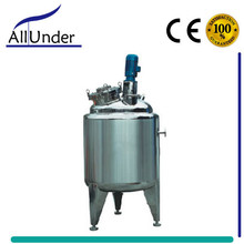 automatic 1000L/2000L steam heating jacket kettle with agitator