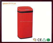 Factory direct sensor trash can large size cast iron dustbin