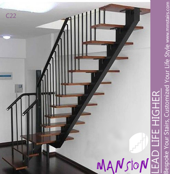 How to install metal stair stringers