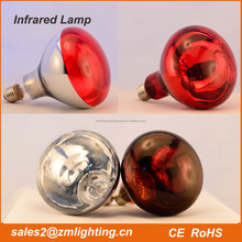 portable 110v/220v 50hz infrared heating lamp 100w 250w 350w 500w 800w 1000W