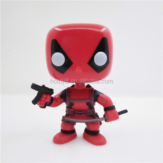 Gzltf Wholesale Funko Pop Marvel Deadpool 20# 10cm PVC Action Figure