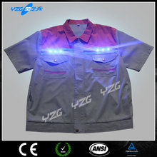 Wholesale Fashionable led light high quality sport t-shirt