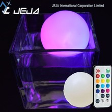 Indoor & Outdoor Decoration Remote Control Led Ball Light Battery Operated