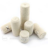 Skin color Made in China high quality medical spandex crepe bandage