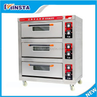 High efficiency thermostat control gas oven wall mounted pizza oven