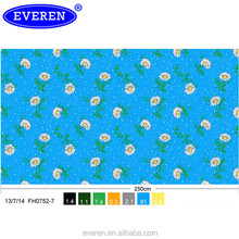Fashion design print Mattress fabric Colorful Pongee fabric to Mexico market