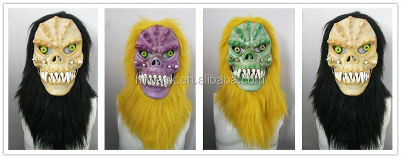 Moving Mouth Person Mask for Holloween Party - Magician005