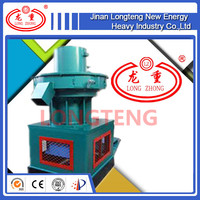 LongTeng Vertical Ring Die Wood Pellet Machine with Auto Lubrication System