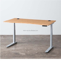 Home Office High Quality Quality Certificated Adjustable Standing Desks Manufacturer