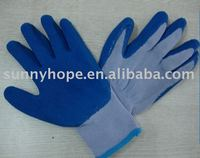 Sunnyhope latex wholesale garden gloves,latex gloves heat resistant