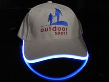 hot sale factory comstom led baseball caps and hats