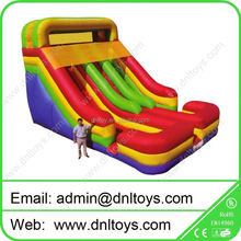 PVC Inflatable slide,air bouncer inflatable trampoline