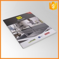 Glue Binding Custom Colorfull Catalogue Cheap Hardcover Book Printing