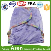 Asenappy china wholesale bamboo baby cloth diapers