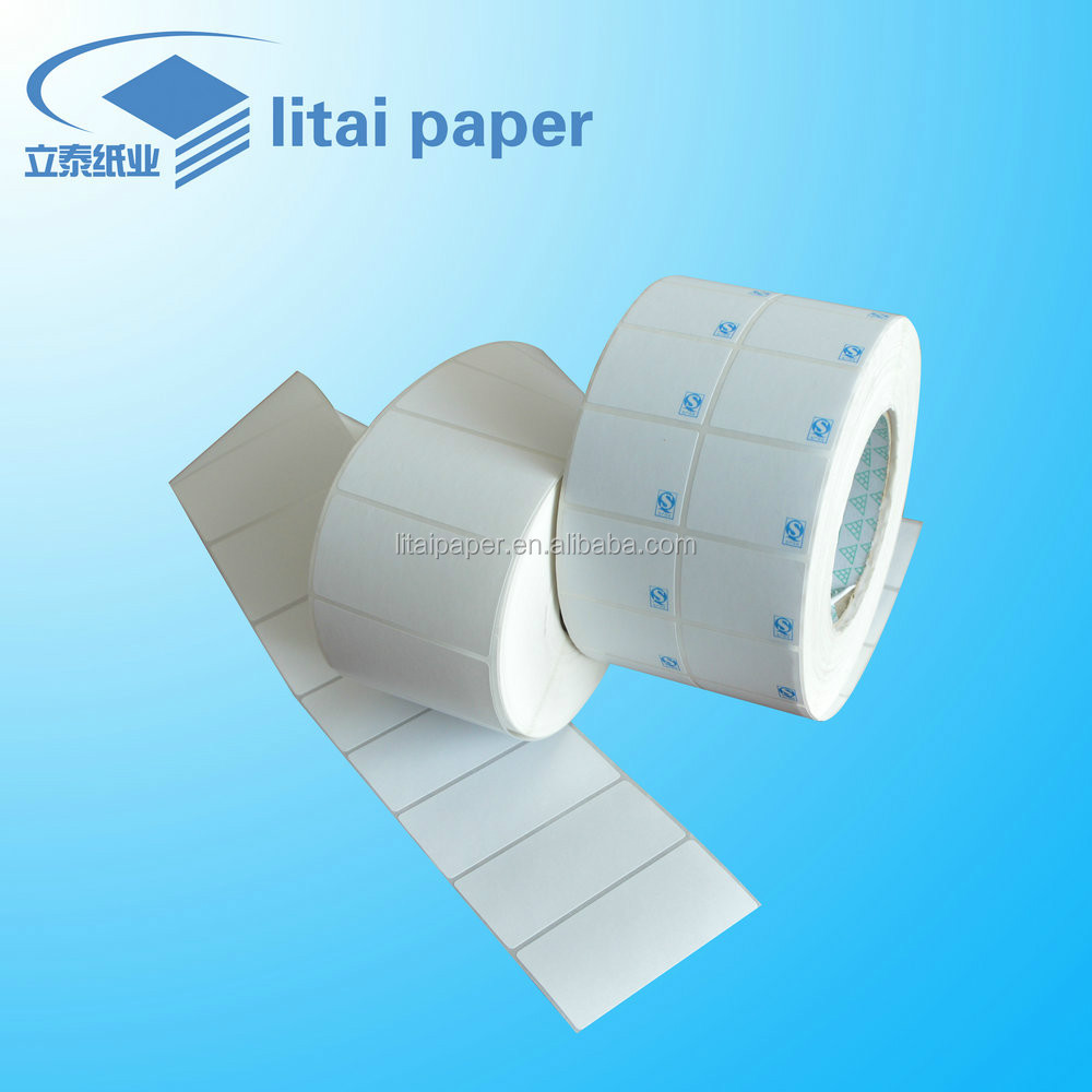 Self adhesive durable thermal paper for medical label electronics label