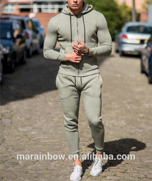 hot sale latest design tracksuit top quality mens tracksuit fleece lining hoodie top tapered jogger pants oem