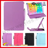 Smart cover for ipad air,sleep awake function protection case for ipad 5 leather case,for apple ipad air tablet