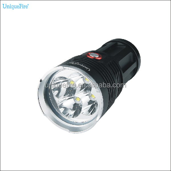 Unique Fire high power rechargeable head torch 4 in 1 led flashlight