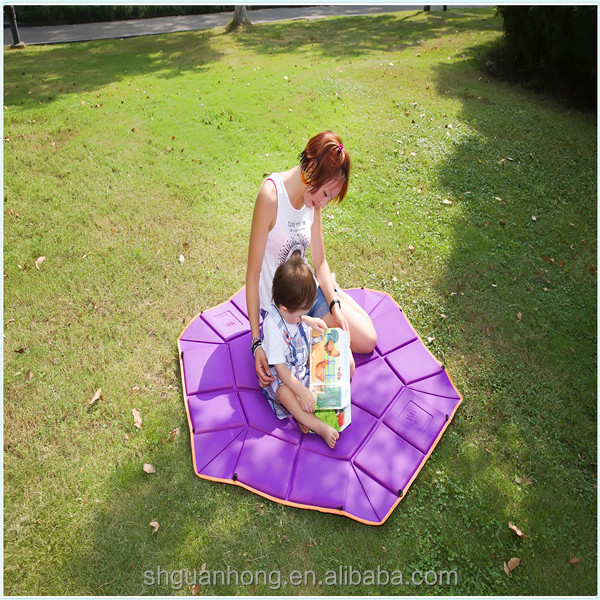Hexagon foldable mat for baby playing and sleeping