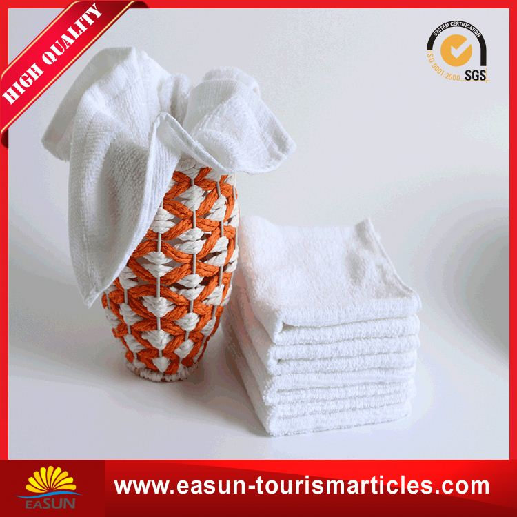 Custom disposable hand towels soft disposable white towels wholesale customized bathroom towel
