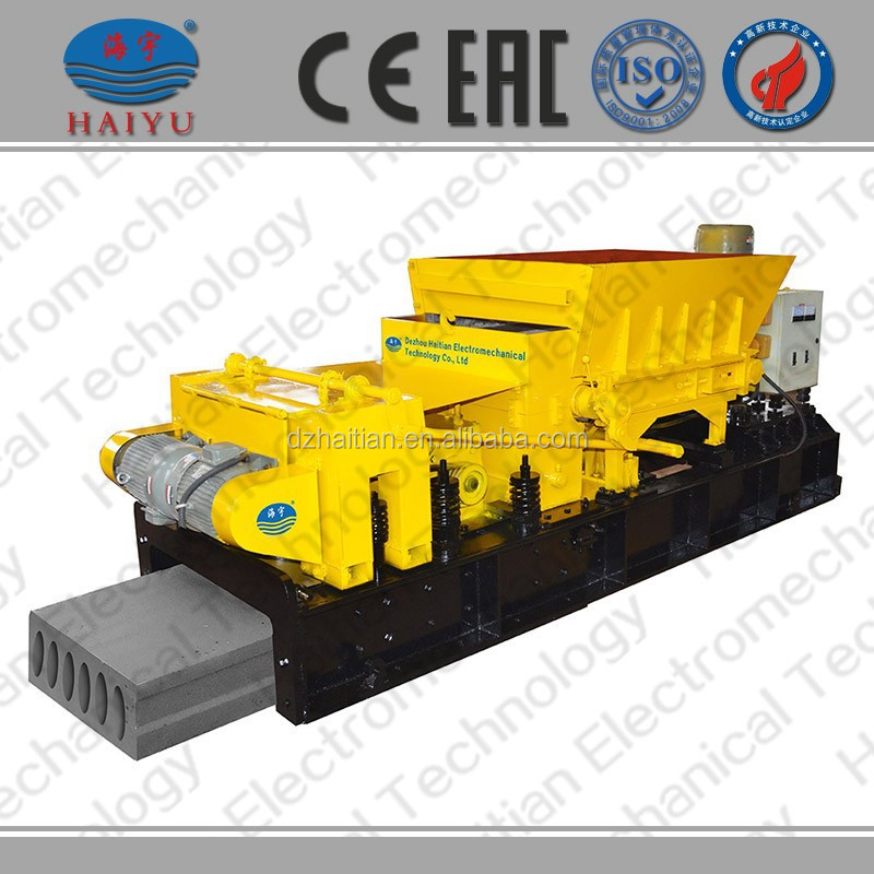 Concrete or cement block making Extruding Machine