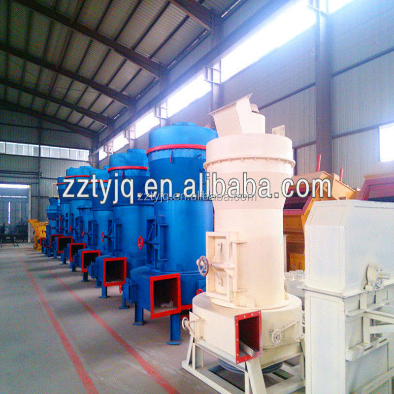 Zhengzhou High efficiency vertical cement grinding mill with large capacity