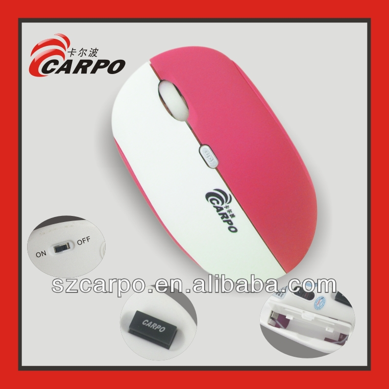 V-2015 Vatop mid computer Scanner mouse nano receiver 2.4G optical laser wireless mouse