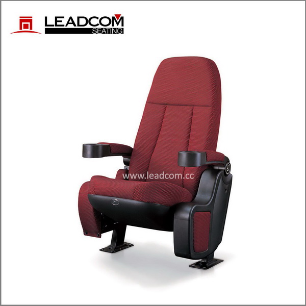 Leadcom ergonomic designed full rocking movie auditorium chair (LS-6609A )