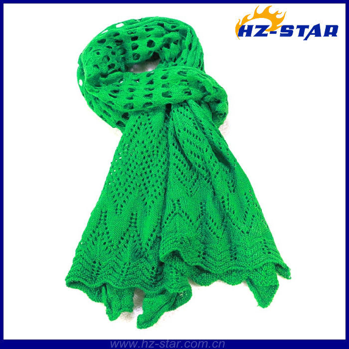HZW-13257 ladies fashion korean knitting crochet patterns shawls