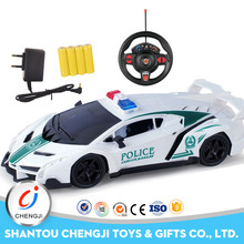 Mini police toys for kids 1/16 scale remote control car toys