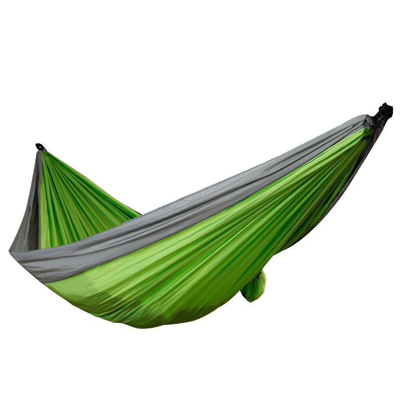 2016 Hot Sale Lightweight Indoor and Outdoor Camping Nylon Parachute Hammock
