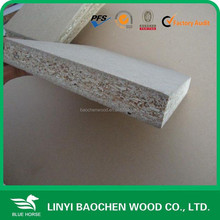 Linyi plain particle board/4'x8', 5'x8'/ pre laminated 18mm chipboard/ melamine particle flakeboard