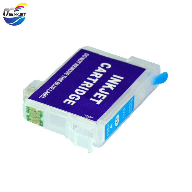 Ocinkjet Empty Refillable Ink Cartridge With Chip For Epson Stylus <strong>N11</strong> NX125 Printer