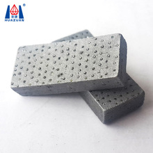 White Sintered Arix Diamond Segment/Diamond Core Drill Bit Segment For Core Drill Bits Drilling Reinforced Concrete