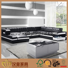 2017 Modern New Design Black And White Sofa Set Designs And Prices, Black And White Leather Sofa
