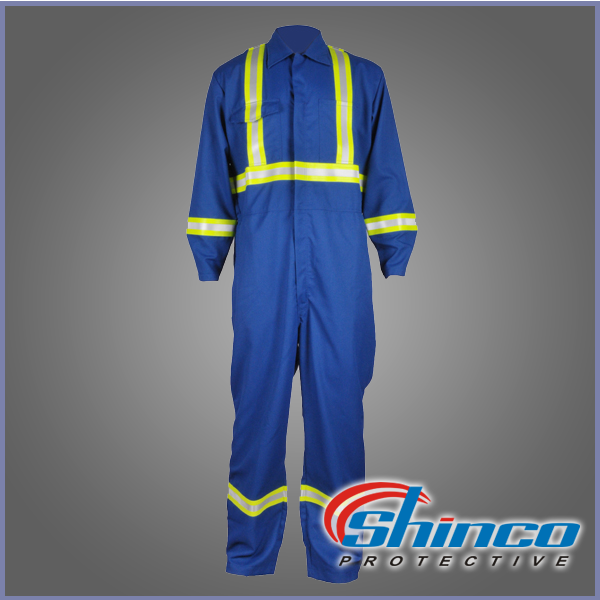 Shinco NFPA 2112 fire resistant used aramid clothing