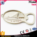 Promotional zinc alloy silver 3d bridge shape metal Hongkong bridge souvenir bottle opener