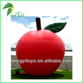 Hot Sale Giant Inflatable Apple Model Balloon , Advertising PVC Inflatable Fruit Apple Shape For Outdoor Display