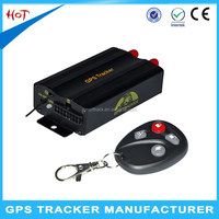 Remote Control Car GPS Tracker TK103B with long Time Battery