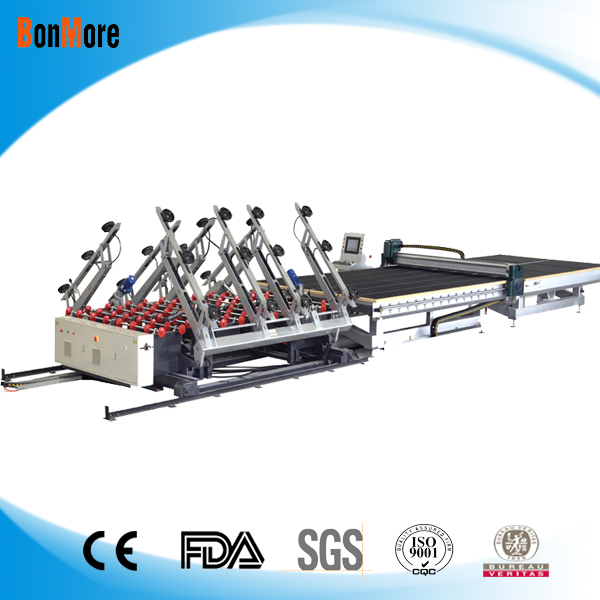 2017E 4228 Automatic laminated used glass cutting table