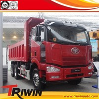 EURO 2 3 4 350hp 261KW left right hand steering china faw ca3250 6x4 dump truck for sale in pakistan