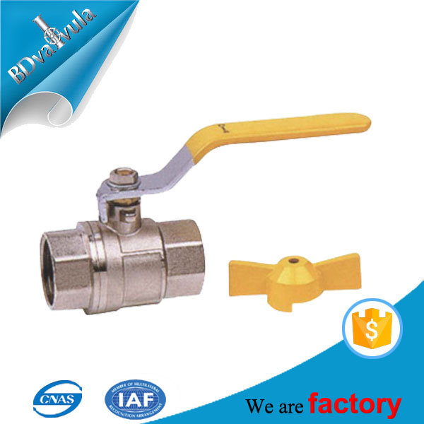 Forging ball valve brass ball valve with steel handle
