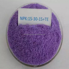 100% Water Soluble Compound NPK 15-30-15+TE Fertilizer Price