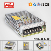 NES 100W single output cctv power supply 8a 12v 100w switching power supply