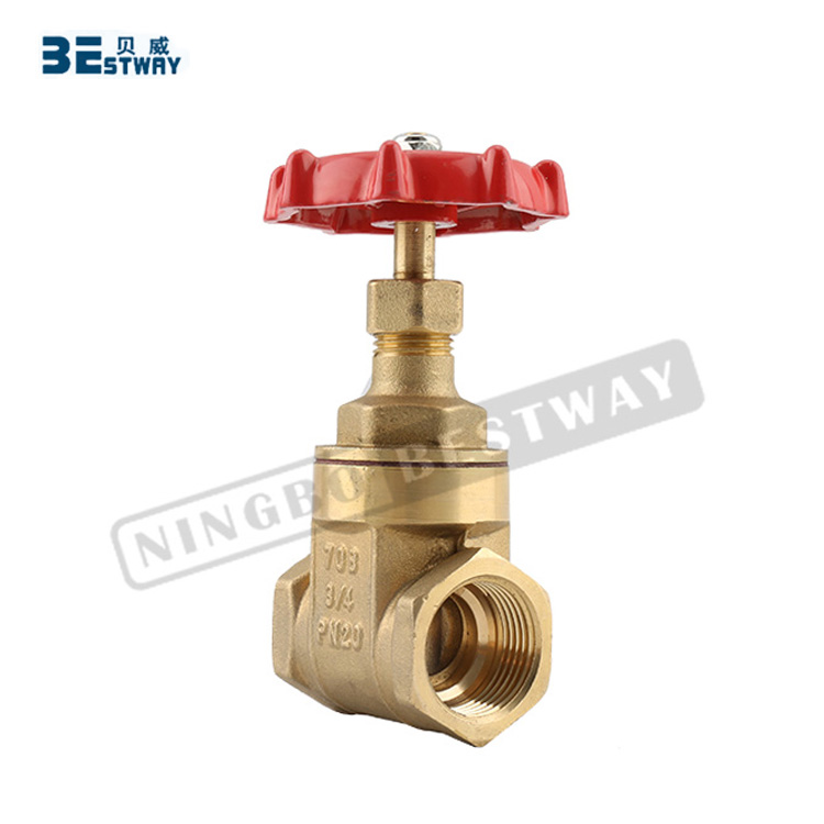 BWVA quick supplying new design PN20 gate valve 3/4 inch