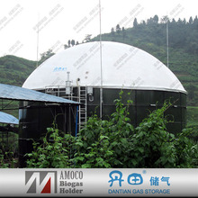 China excellent good price AMOCO portable anaerobic biogas digester tank