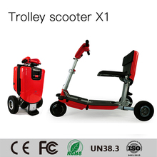 Hot Sale handicapped motor 48V 250W smart mini three wheel mobility scooter for old people