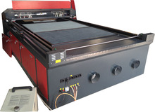 DRK 1318 1325 1530 stainless steel and carbon steel laser cutting machine price for metal and nonmental material