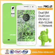 ce fcc certification cheap OEM dual core special mobile phone