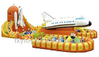 2013 fashion cartoon design!! Small playground Inflatable bouncer LT-2130B